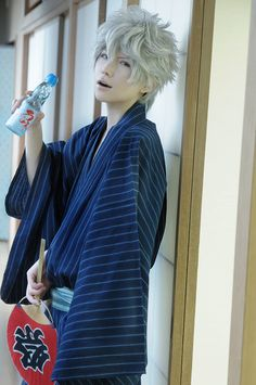 Gintama cosplay - Handsome Sakata Gintoki