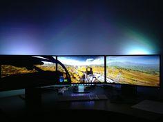 Triple Monitor LED BF3