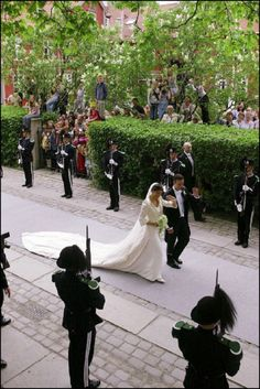 Wedding Of Princess Martha Louise And Ari Behn In Trondheim, Norway On May 24, 2002