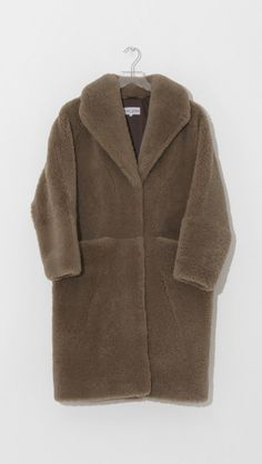 Cove High Pile Shearling Parka by Apiece Apart