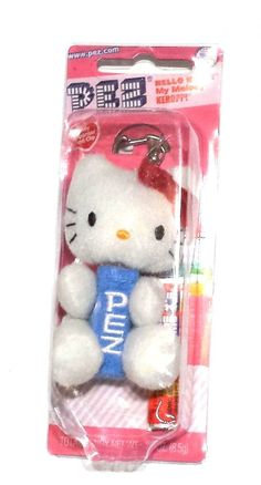 Pez Hello Kitty My Melody Keroppi Keyring Candy Dispenser - Collectible
