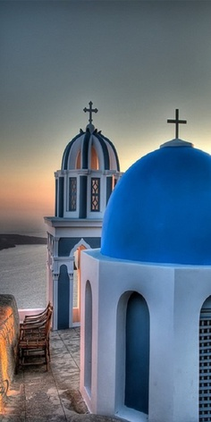 Santorini Church, Greece (by Martin Smith) Oh The Places You'll Go, Places To Travel, Places To Visit, Albania, Greek Isles, Thinking Day, Santorini Greece, Santorini Island, Place Of Worship