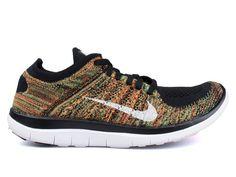 NEW NIKE FREE 4.0 FLYKNIT Running MENS 631053 006 NIB #Nike #Running