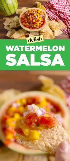 Watermelon Salsa Delish