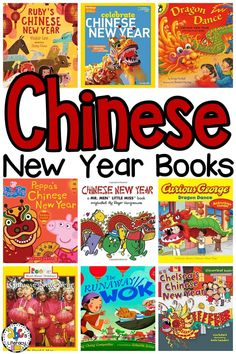 Celebrate the Chinese New Year and practice and beginning reading skills by sharing these Chinese New Year Books with your kids!