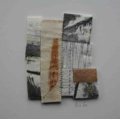 long journey by Alice Fox Textile Fiber Art, Textile Artists, Alice Fox, Textiles Sketchbook, Creative Textiles, Fabric Journals, Book Projects, Fabric Art, Collage Art