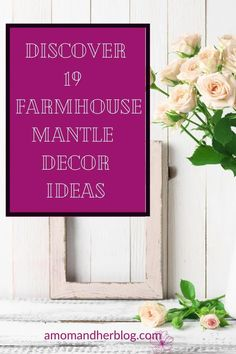 Farmhouse mantle decor accessories and decor ideas.  #mantledecor #mantledecorideas #farmhousemantledecorideas #homedecor #farmhousehomedecor Living Room On A Budget, Rugs In Living Room, Living Room Designs, Farmhouse Living Room Furniture, Farmhouse Decor, White Bunnies, Relaxing Colors, Mantle Piece, Mom Blogs