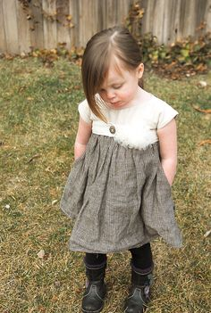 This website is awesome!!! Tons of clothes patterns for little girls!
