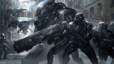 Sci-Fi Art: Infiltration Operation - 2D Digital, Sci-fiCoolvibe – Digital Art