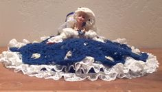Bonnie Blue is an OOAK Southern Belle inspired Crochet Bed Doll.  She can be…