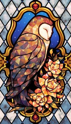 Stained Glass Owl Art by longestdistance on DeviantArtYou can find Owl art and more on our website.Stained Glass Owl Art by longestdistance on DeviantArt Stained Glass Tattoo, Stained Glass Art, Fused Glass, Medieval Stained Glass, Glass Beads, Broken Glass Art, Sea Glass Art, Glass Vase, Stained Glass Projects