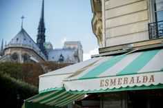 Esmeralda Cafe in Paris - Gal Meets Glam
