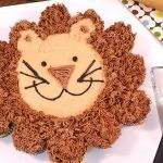 Cupcake Cake Lion Recipe   Fun Cupcake Recipe