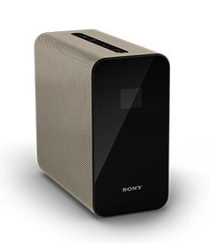 A portable projector from Sony that turns flat surfaces into an interactive touchscreen. Find out more on the official Sony website.
