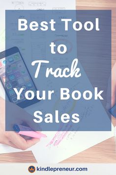 Best tool for tracking book sales   book sales tracker   sell more books   author   book marketing   self-publishing