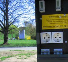 Støøte elbil-ladestasjon regjeringen.no