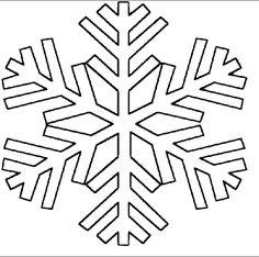 disegni di fiocchi di neve