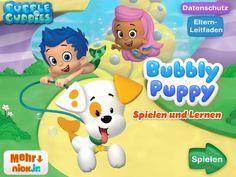 Bubble Puppy - Spielen & Lernen App: Buchstaben, Zahlen und jede MengeSpaß