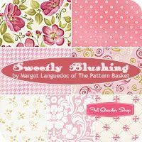 Sweetly Blushing Fat Quarter Bundle Margot Languedoc for Henry Glass Fabrics