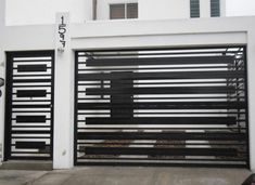 House Main Gates Design, Front Gate Design, Door Gate Design, House Front Design, Railing Design, Fence Design, Gate Designs Modern, Modern Gates, Modern Garage Doors