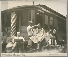 California cooperative barber shop, 1934
