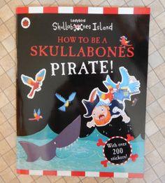 Ladybird Skullabones Island - a sticker book review