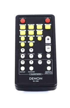 Denon RC-1084 Remote Control ▷ Ipod, Remote, Play, Antiques, Antiquities, Antique, Ipods, Old Stuff, Pilot