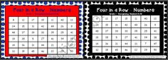 """FOUR IN A ROW GAME like connect 4 14 VARIATIONS grade 1 pack from Miss Simplicity's Store on TeachersNotebook.com -  (39 pages)  - Four in a Row (Connect 4) Pack for Grade 1 or Year 1  A 2 dimensional take on 'Connect 4"""". No more buying expensive game boards that simply don't last!  Print out each game board and laminate."""