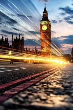 Londra'da akşam.