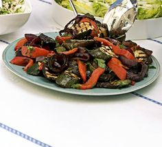 Grilled & marinated summer vegetables recipe - Recipes - BBC Good Food