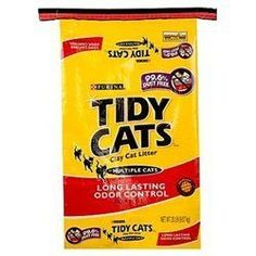 Tidy Cat Litter Long Lasting Odor Control 20LB Pack of 2 ** Continue to the product at the image link.