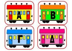 dreamskindergarten Το νηπιαγωγείο που ονειρεύομαι !: Γλωσσικές δραστηριότητες στο νηπιαγωγείο Train Crafts, Greek Alphabet, Alphabet Activities, Literacy, Letters, Education, School, Blog, 3d