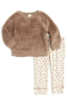 Nordstrom Baby Faux Fur Top & Leggings (Baby Boys) available at #Nordstrom