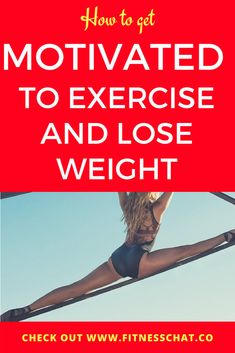 how to get motivated to exercise and lose weight| Do you have a gym membership but struggle to make use of it because you lack the motivation to workout? Did you set fitness goals for this year but are already battling to meet them because motivation has somehow fizzled? Do you want to exercise regularly but can't seem to find the time to do so? #fitnesschat #motivation #inspiration #workout #fitnessmotivation #fit #wellness #exercise