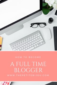 Ever wanted to become a full time blogger and make money from your blog? Successful lifestyle and fashion blogger, The Petite Bijou, shares her secrets on making that dream a reality. These blogging tips are really great - full of information about making money blogging and what steps you need to take. Definitely worth a read! Pin now and save for later
