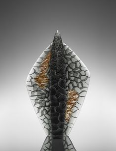Artist: Michael Behrens  Title: Seaforms 2016-205 Process: Cast glass Size: 25.75 x 15.75 x 6 Inches Year: 2016 Please contact the gallery for pricing  Habatat Galleries 248.554.0590 – info@habatat.com