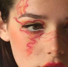 Pin by Finna Christensen on Makeup looks in 2019 Makeup Inspo, Makeup Art, Makeup Inspiration, Beauty Makeup, Hair Makeup, Cute Makeup, Pretty Makeup, Makeup Looks, Art Visage