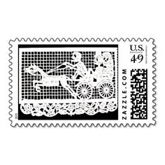 Day of the Dead - Bride and Groom in Horse-drawn C Postage Stamps ...  www.zazzle.com-512 × 512-Search by image Day of the Dead - Bride and Groom in Horse-drawn C Postage Stamps