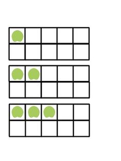 These ten frames are great for whole group and small group use as well as individual practice. Utilizing ten frames in the early grades helps child. Visual Perceptual Activities, Math Activities, Vision Therapy, Pond Life, Visual Memory, Ten Frames, Small Groups, Classroom, Clip Art