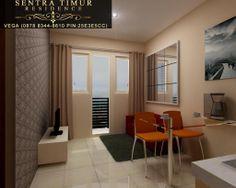 Jual Apartemen Murah Jakarta Timur. Contoh type 21 (Studio) fully-furnished dengan memanfaatkan desain minimalis dan fungsional. http://sentratimur.vegaaminkusumo.com #sentratimur #apartemen #jual_apartemen #apartemen_murah #sentra_timur #sentra_timur_residence #desain #desain_apartemen #desain_minimalis #minimalis #living_room #sentratimurresidence