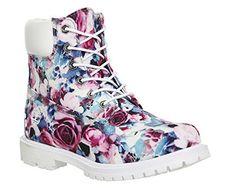 Timberland  6in Premium,  Damen Stiefel , - Floral Exclusive - Größe: 35.5 - http://uhr.haus/timberland/35-5-timberland-6-inch-premium-ftb-6-inch-w-10361