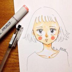 little ghost | #mekaworks #drawing