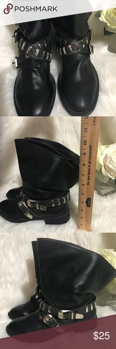 Baby Phat New Black Boots size 7.5 Baby Phat New Black Boots size 7.5 Product number A-41 Baby Phat Shoes Ankle Boots & Booties