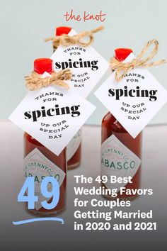 Looking for wedding favor ideas for your 2020 or 2021 wedding? Check out these top picks for wedding favors from The Knot editors and find everything from seed wedding favors to s'more wedding favors made to match your big day. Personalize your wedding and put a spin on tradition with The Knot's customizable wedding websites, wedding invitations, registry. Not sure where to start? Get ideas and advice from our editors on everything from wedding colors and venue types to all things guest. Seed Wedding Favors, Creative Wedding Favors, Wedding Tips, Dream Wedding, Wedding Website, Unique Weddings, Big Day, Wedding Colors, Getting Married