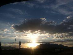 Pretty sunset in Cananea, Sonora ❤⛅