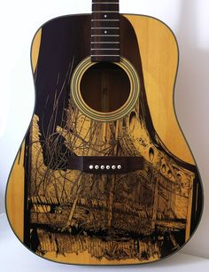 Ink masterpieces covering guitars. Where do I donate my six-string? - via @MyModernMet