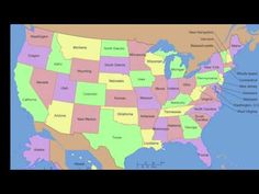 50 states that rhyme- Vocal - YouTube