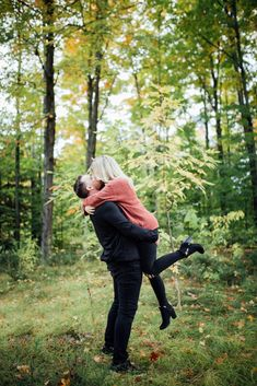 Our backyard in Mississippi Mills, ON is the perfect woodland for a romantic session Fall Engagement, Engagement Shoots, Engagement Photography, Ottawa Valley, Early Autumn, Mississippi, Photo Sessions, Woodland, Photo Ideas