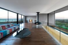 Stormy Castle by Loyn and Co Architects in Wales