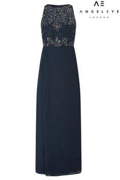 Buy Angeleye Split Embellished Maxi Dress from Next Austria